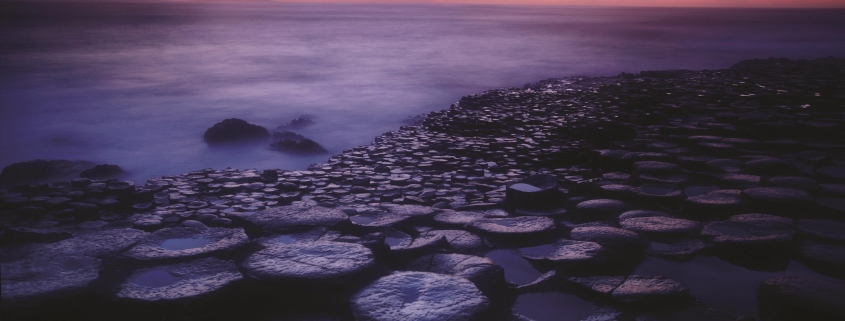 How the Giants Causeway was formed
