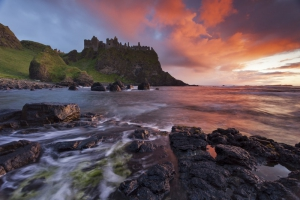 The History of Dunluce Castle